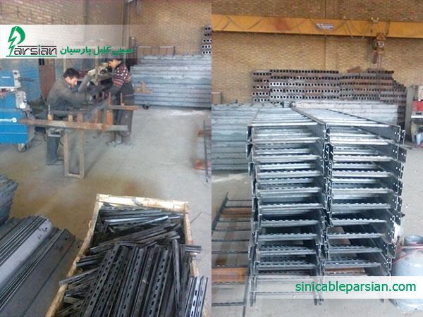 گارگاه تولیدکننده ساخت نردبان کابل
