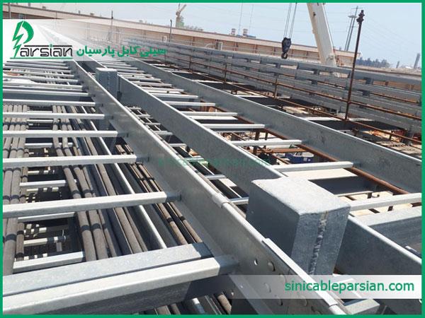 تولید کننده نردبان کابل آلومینیومی