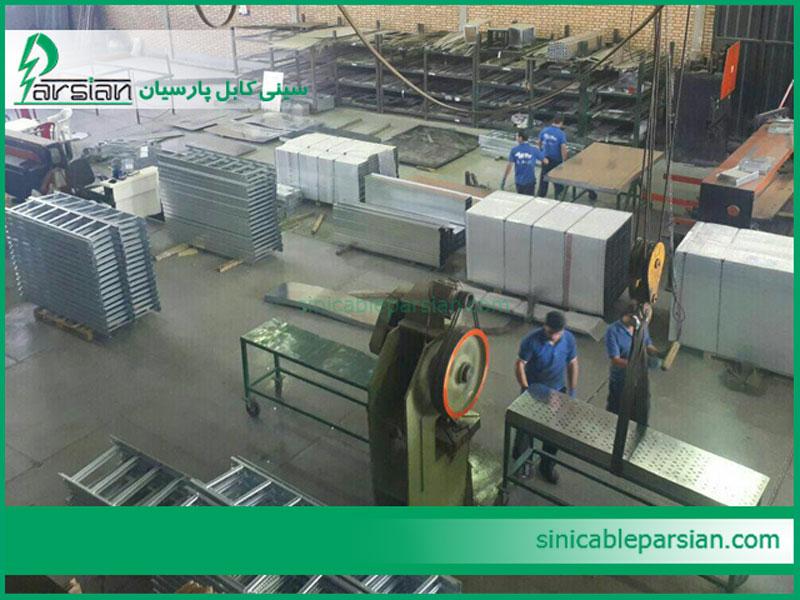 تولید سینی کابل